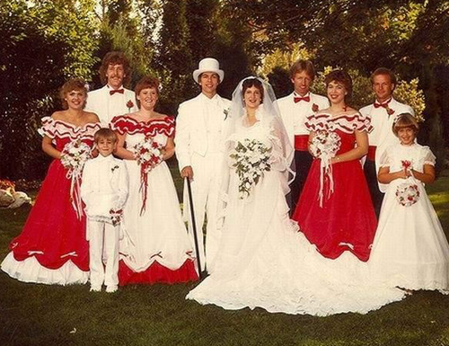 Funny Wedding Pictures: 13 More Weddin' Day Dohs!