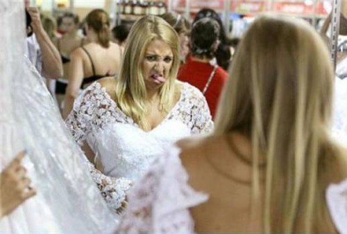 Funny Wedding Pictures: 14 More Ceremony Moans & Grins