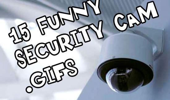 15Funny Security Cam .gifs