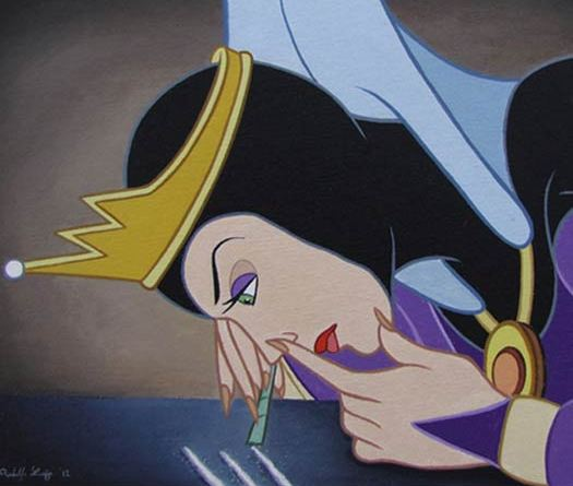 The Snow Queen – Disenchanted – Disney Disney Characters Losing Their Innocence
