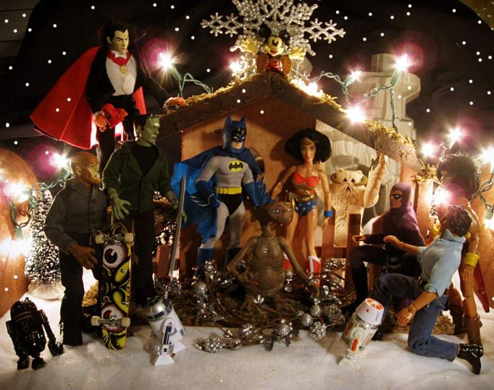 Toys Action Figures Nativity Scenes