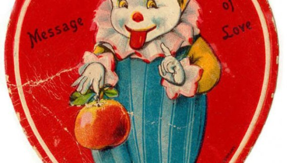 34 of the Creepiest Vintage Valentine's Day Cards Ever!
