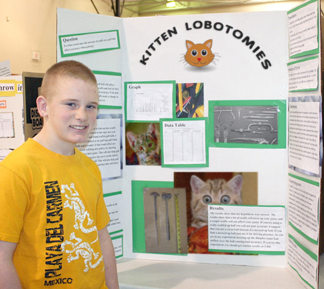 27 Funny Science Fairs with Projects that Rock! ~ kitten lobotomies high school