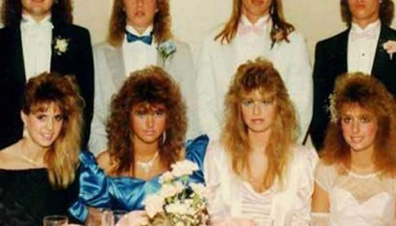 Big Hair, 1980s prom pic ~Awkwardly Funny Family Photos