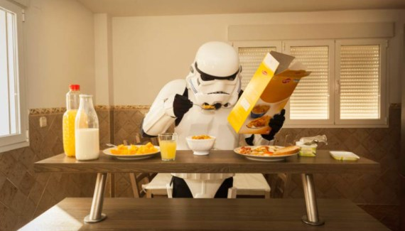 The boring every day lives of Stormtroopers: