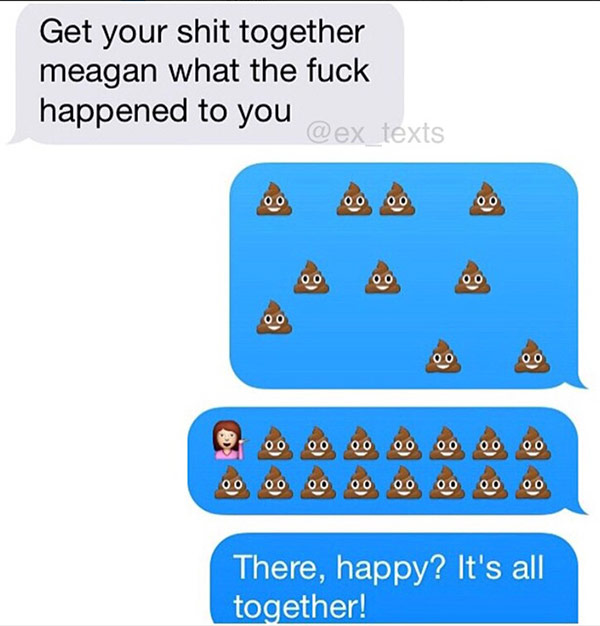 great comebacks text messages from girls owning their ex boyfriends