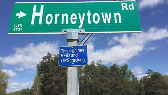 Funny Street Signs ~ Horneytown Road
