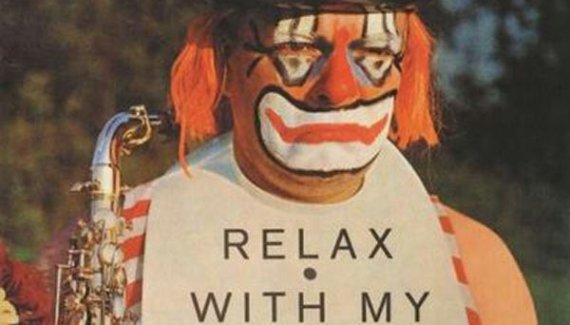"""Creepy Clown Jazz, """"Relax With My Horns"""" ...Worst Album Covers Ever!"""