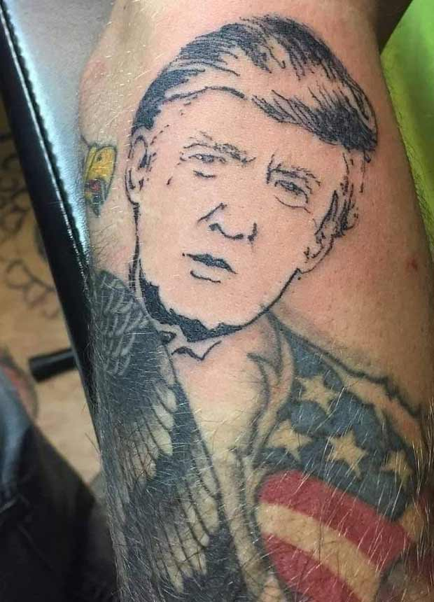 27 Political Fails of Our President Donald Trump tattoo
