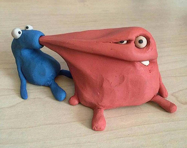I want that! ~ 33 funny pics and memes ! play doh monster sucking