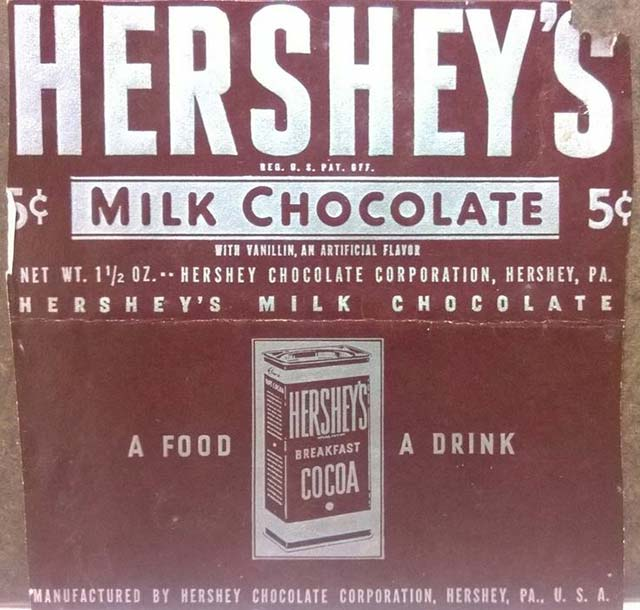 In 1968, $1 would score you 20 Hershey's Bars