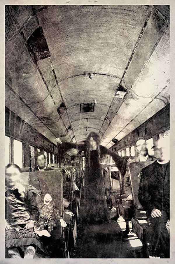 Terror Train ~ old creepy photos