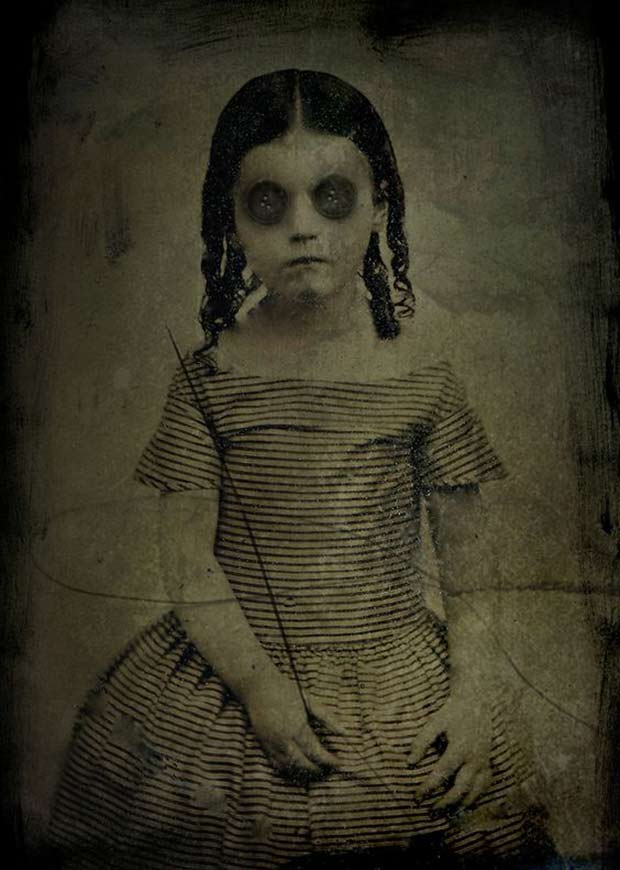 Image result for creepy girl