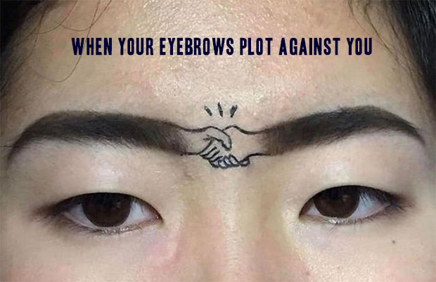 It's a deal!... hand shaking eyebrows ~~ 37 funny pics & memes