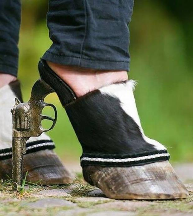 These hoofs are made for walkin'...