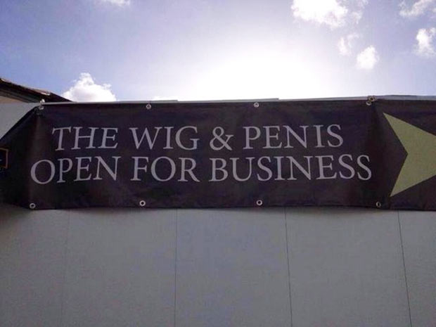 For those who like to Role Play... ~~~funny sign fails
