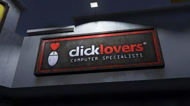 For lovers of computer porn. ~~ funny sign fails