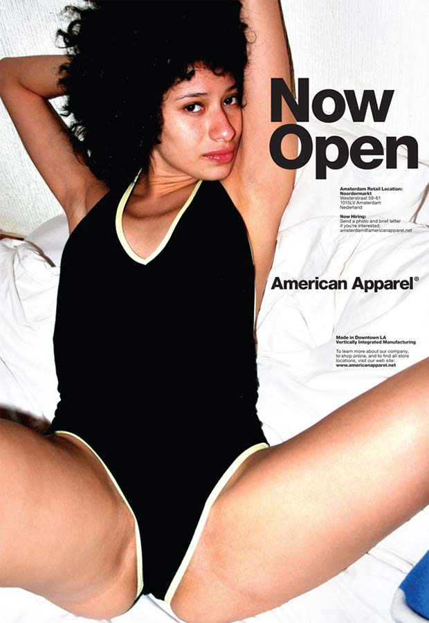 Obviously... ~ Sexist ads vintage and new American Apparel Now Open