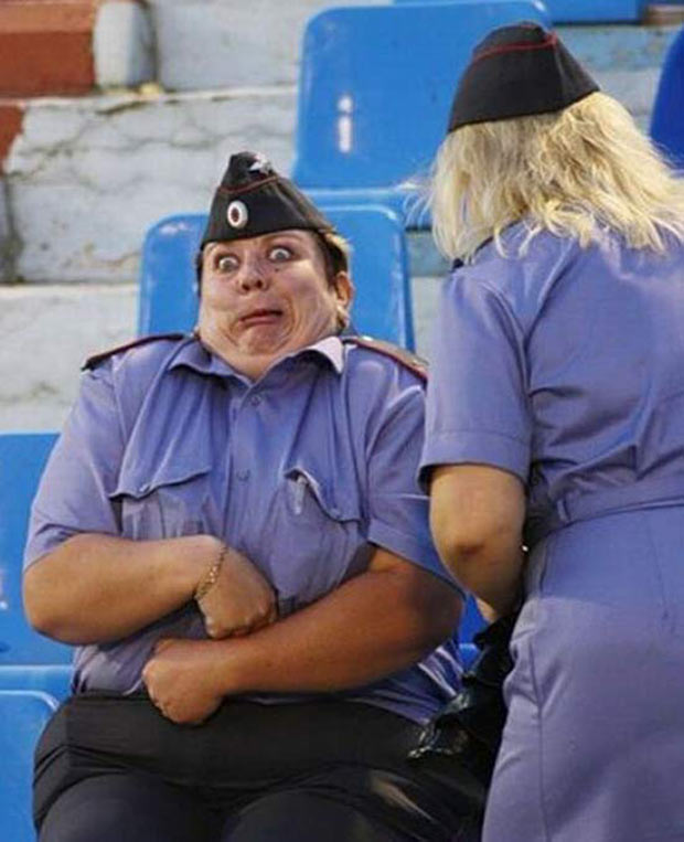 Pvt. Meldon learned the hard way. There is an expiration date on K-Rations. ~.~.~ Awkwardly funny family photos