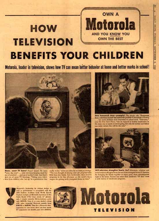 I told ya!!!!! ....vintage ad how television benefits your children ~.~ funny pics & memes