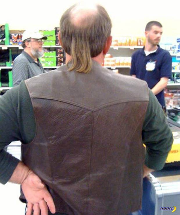 The Water Fall... an awesome bald man mullet ... funny pics