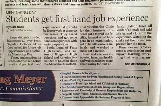 Why hyphens matter ... ~ funny newspaper headline fails ~ students get first hand job experience ~ funny pics and memes