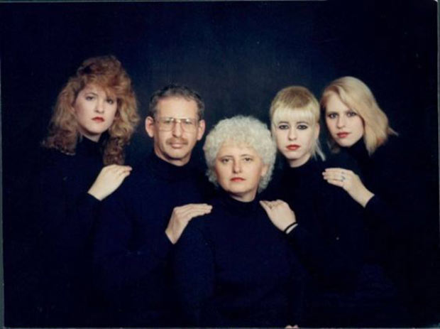 The Johnson's doing their best version of Bohemian Rhapsody... ~ Funniest Family Christmas Cards ~