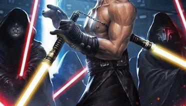 bruce lee lightsaber battle scene recreation Star Wars