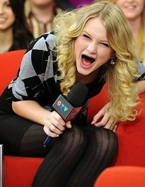 Taylor Swift ~ Celebrities if they didn't have Teeth
