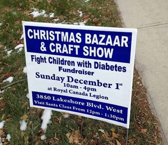 Strange signs~ Fight Children with Diabetes ~ humor
