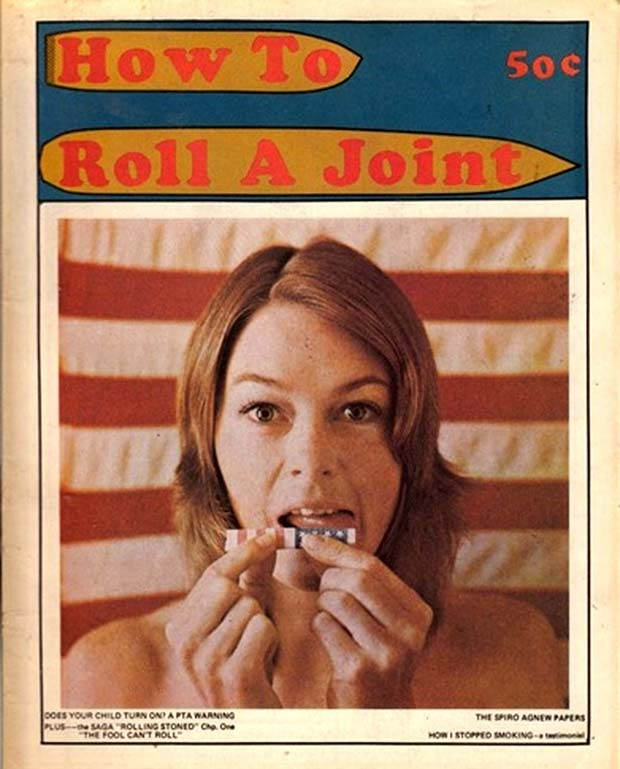 vintage magazine cover manual how to roll a joint