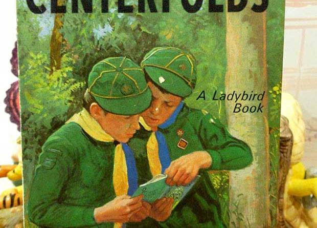 Wait to you see Miss June! ! Girl Scout Centerfolds a Ladybird Book ~ inappropriate children books ~terrible, bad kids books