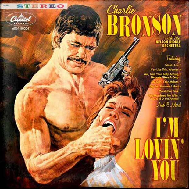27 Bad Album Cover - The Worst of the Funny ~ Charles Bronson I'm Loving you