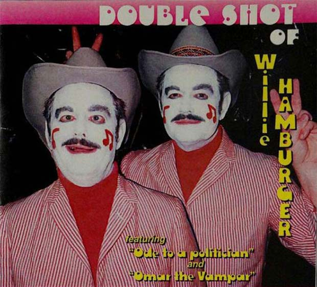 27 Bad Album Cover - The Worst of the Funny ~ Double Shot of Willie Hamburger