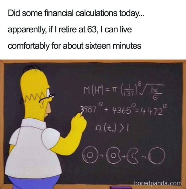 47 of the Best Great Teacher Memes  ~ financial planning for retirement