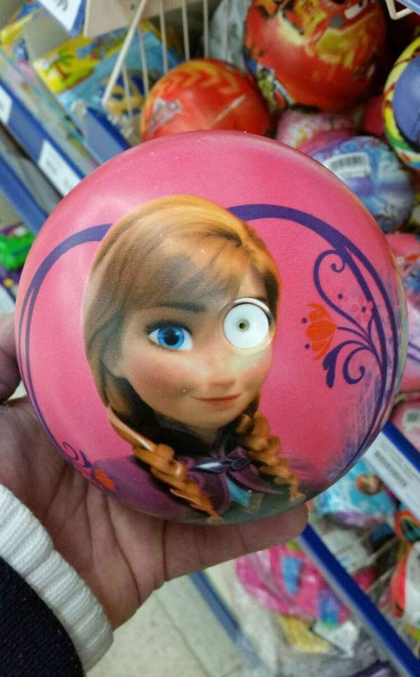 33 Funny Pics and Memes of the Day ~ Ilsa, Frozen you had one job eye air hole ball