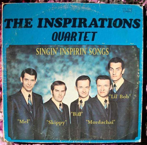 Another 5 Person Quartet ~27 Bad Album Cover - The Worst of the Funny ~ The Inspirations Quartet