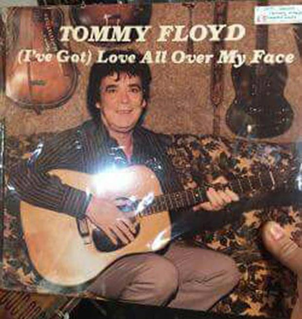 27 Bad Album Cover - The Worst of the Funny ~ Tommy Floyd I've got love all over my face