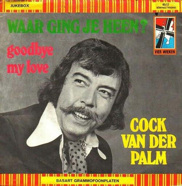 27 Bad Album Cover - The Worst of the Funny ~ Cock Van Der Palm