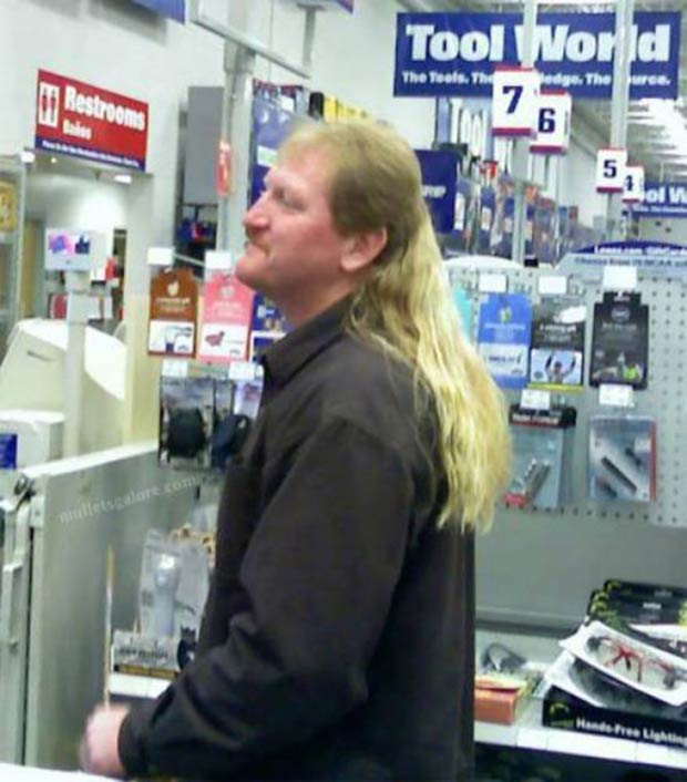 Rockin' the best mullet in Lowes ~ 33 Funny Pics and Memes best