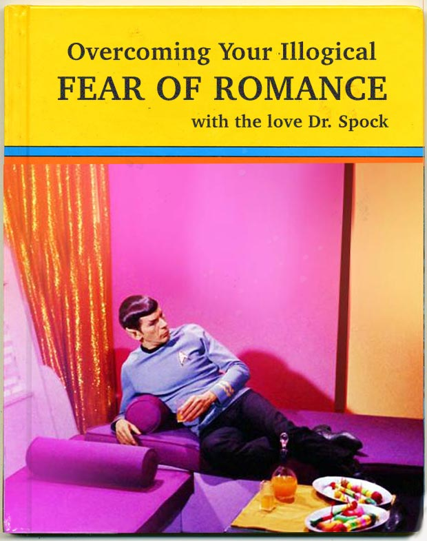 35 Funny Pics and Memes Ya Gotta See ~ funny book titles gear of romance dr. Spock