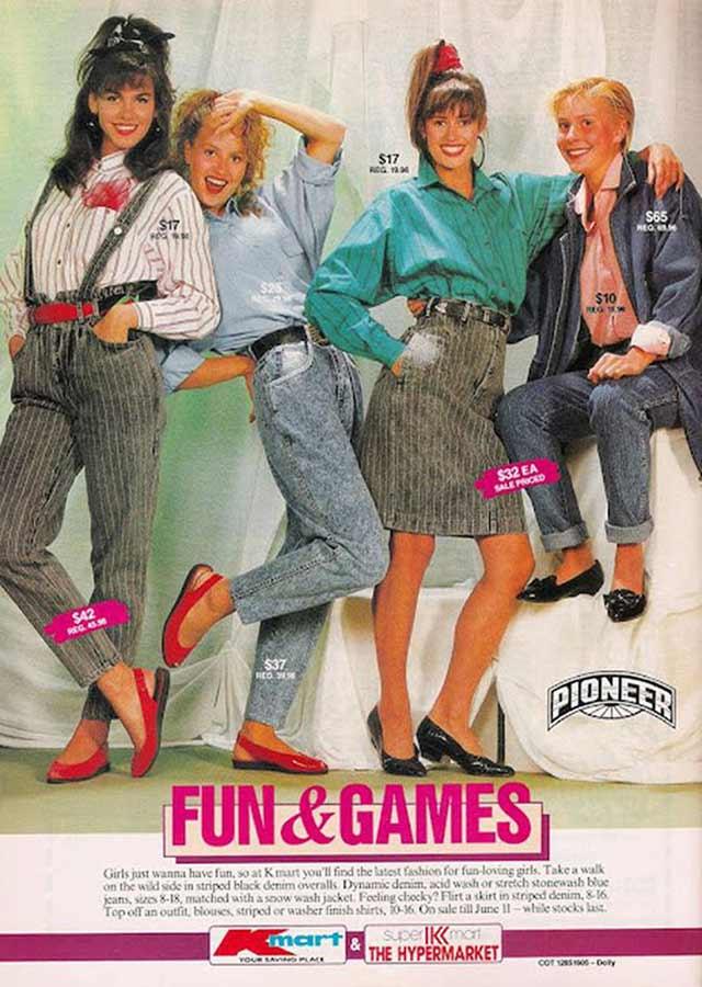 Random Humor : 35 Funny Pics and Memes ~ vintage 1980s teen fashions ad