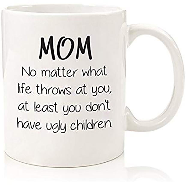 20 Hilarious Christmas Gifts for under $20 – Funny Coffee Mug for Mom