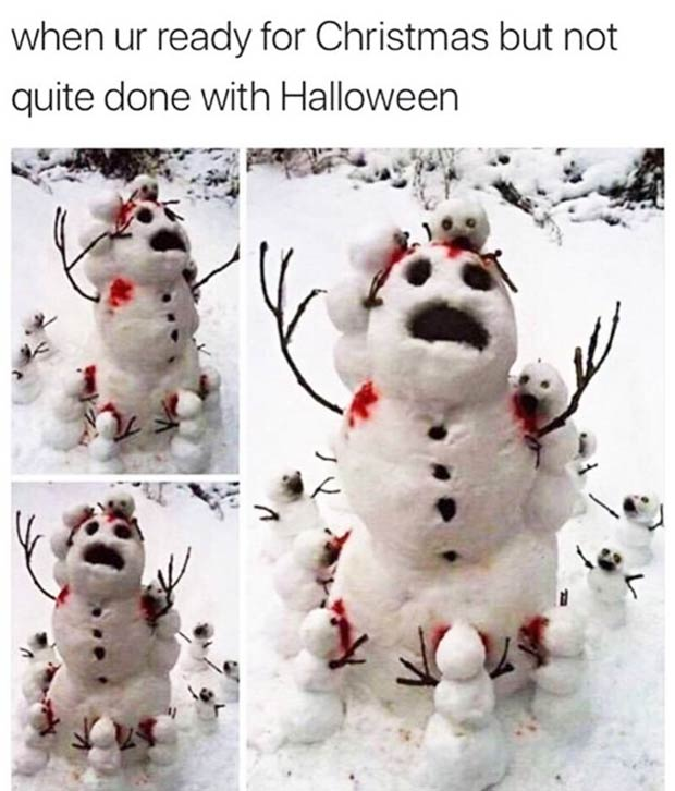35 Funny Memes and Random Pics to Boost Your Humor Level... ready for Christmas but not done with halloween