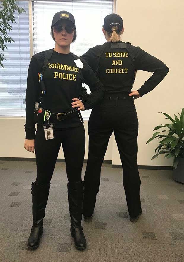 35 Funny Memes and Random Pics to Boost Your Humor Level... best halloween costumes, grammar police