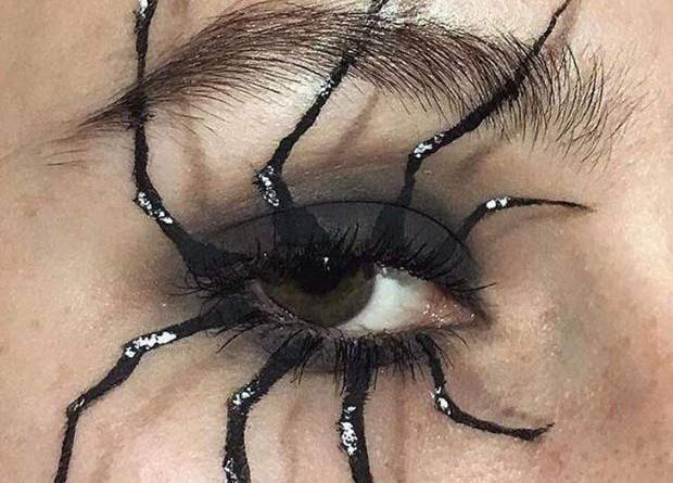 33 Best Memes and Funny Pics Laced with Humor! ~ creepy cool spider legs eye makeup