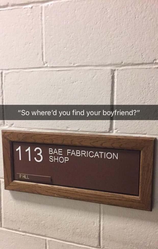 33 Funniest Memes and Pic to Get Your Laugh On ~ funny snapchat bae fabrication