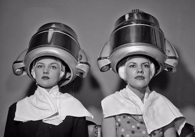 33 Funniest Memes and Pic to Get Your Laugh On ~ vintage beauty salon hair dryers