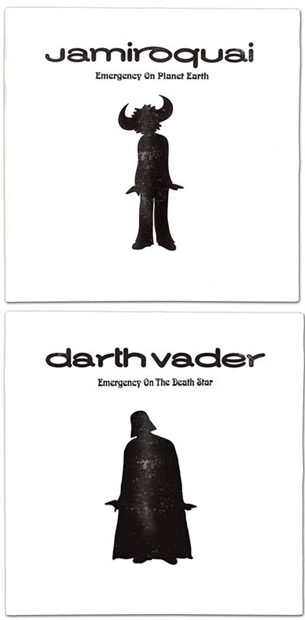 28 Star Wars ~ Classic Album Covers Mash-ups That ROCK! ~ Jamiroquai