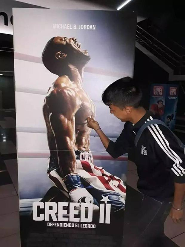 34 Funny Memes and Random Pics with Humous Convictions ~ Creed II poster kitty twister